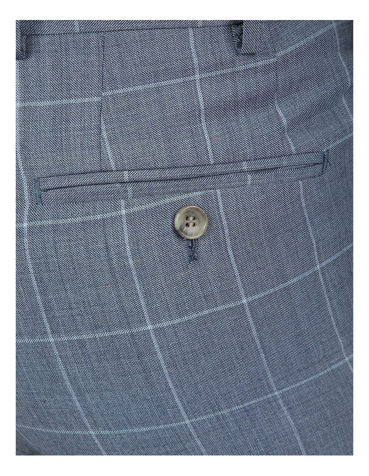 Modern Fit Light Blue Phantom Trouser image 4