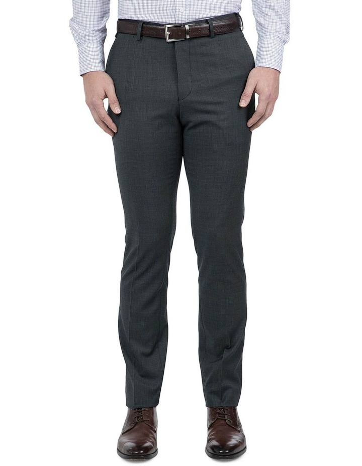 Navy Check FCI371 Suit Trouser image 1