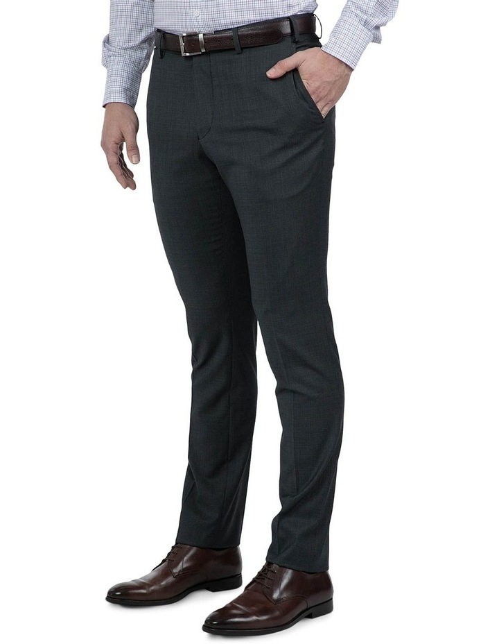 Navy Check FCI371 Suit Trouser image 2