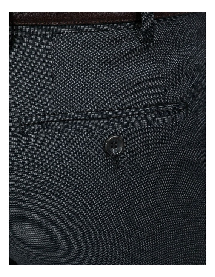 Navy Check FCI371 Suit Trouser image 4