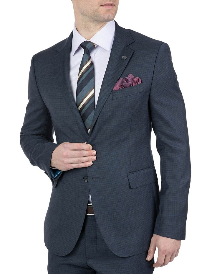 Modern Fit Navy Morse Jacket image 2