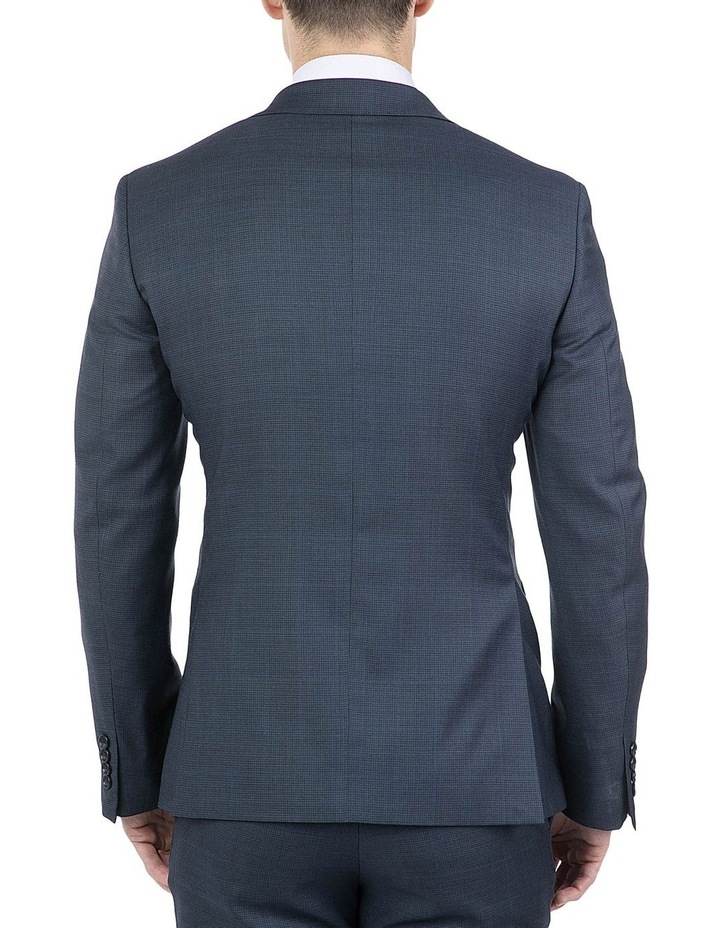 Modern Fit Navy Morse Jacket image 3
