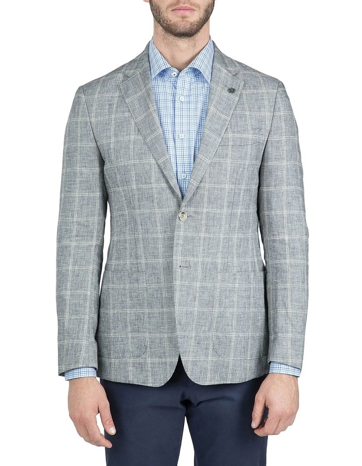 Modern Fit Black and White Balwyn Jacket image 1