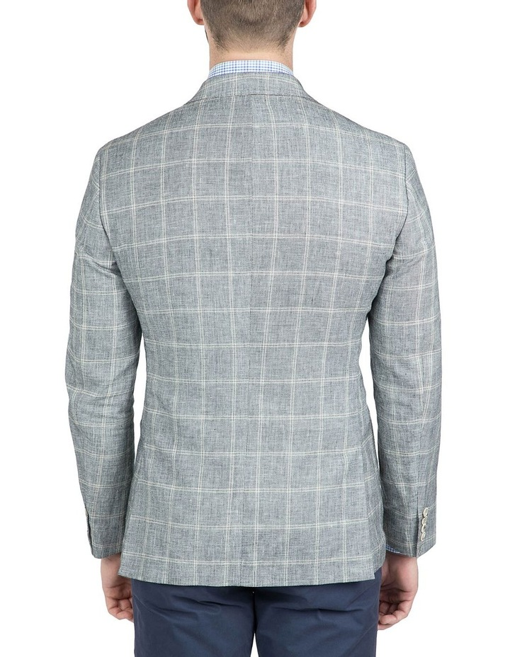Modern Fit Black and White Balwyn Jacket image 3
