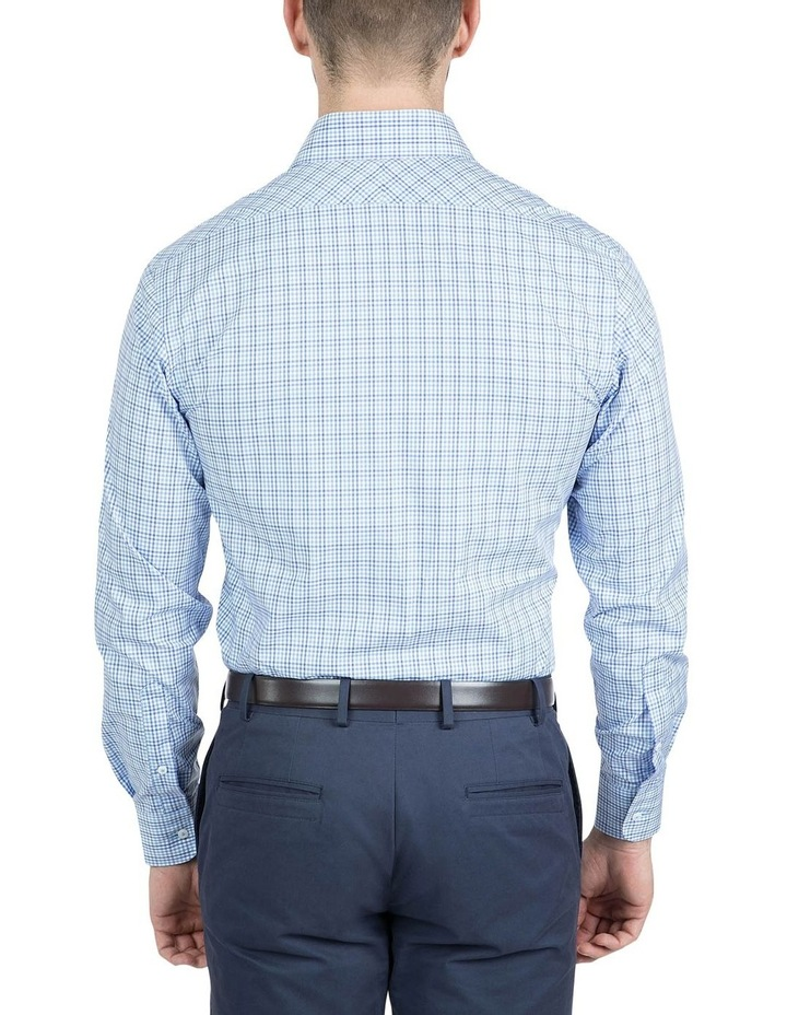 Modern Fit Blue Carlton Shirt image 3