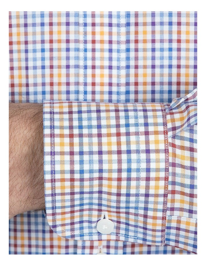 Modern Fit Multicolored Carlton Shirt image 4
