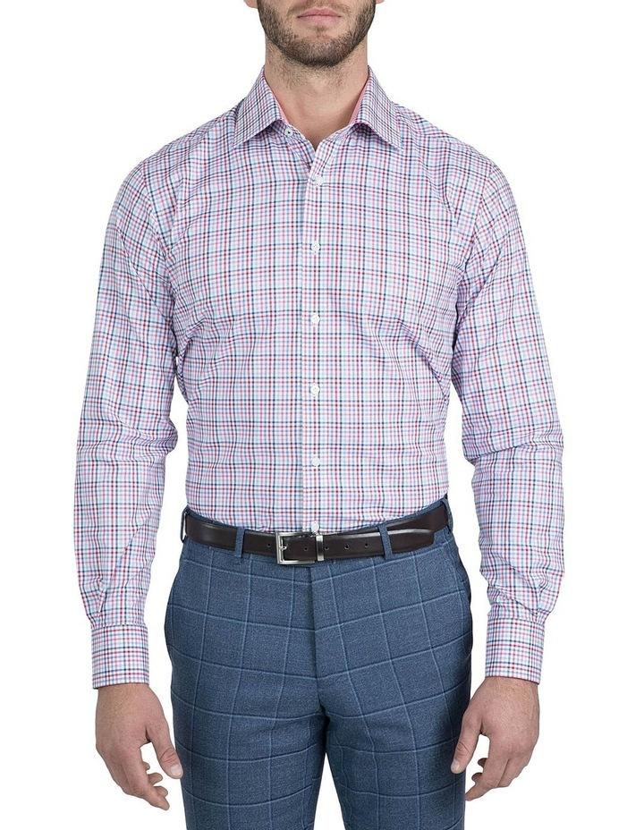Modern Fit Pink Carlton Shirt image 1