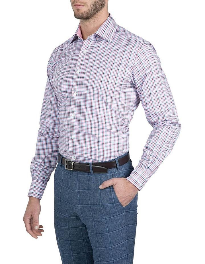 Modern Fit Pink Carlton Shirt image 2