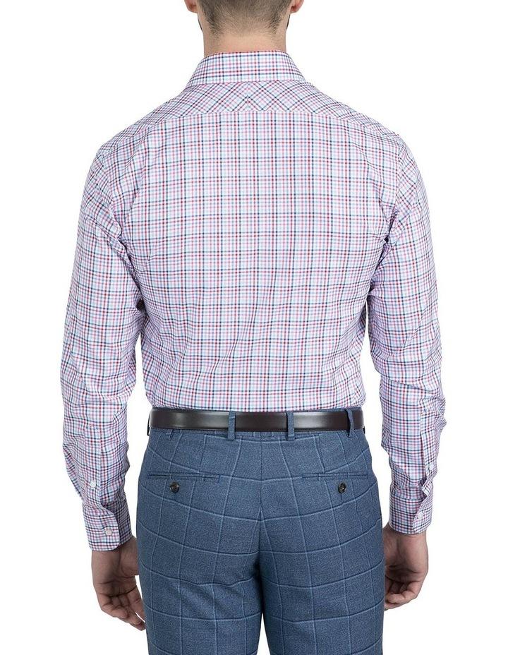 Modern Fit Pink Carlton Shirt image 3