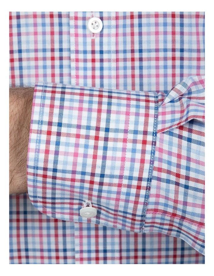 Modern Fit Pink Carlton Shirt image 4