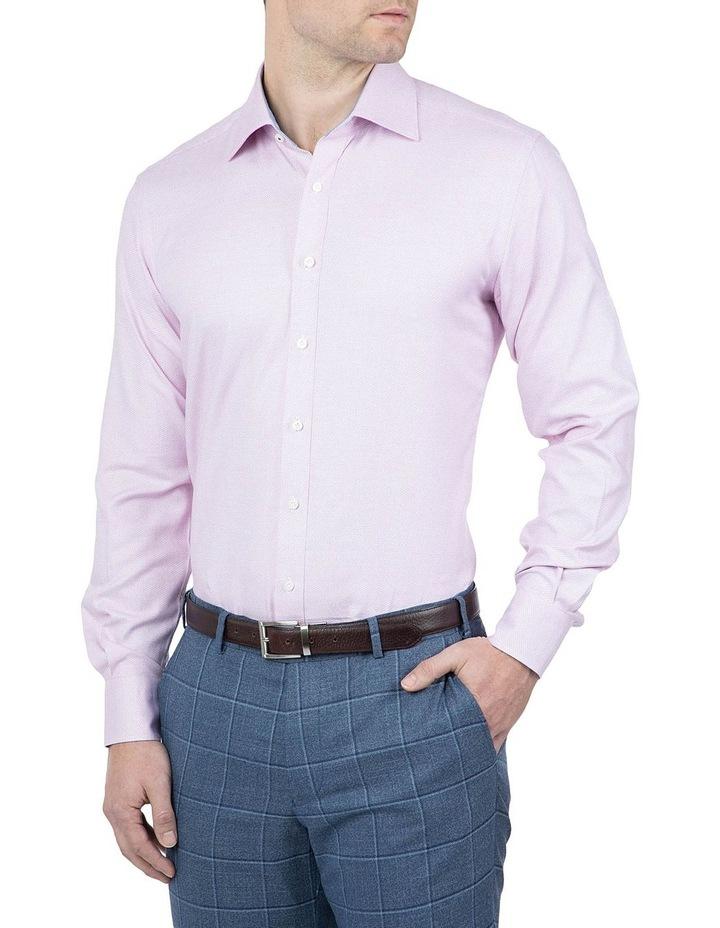 Classic Fit Pink Carlton Shirt image 2