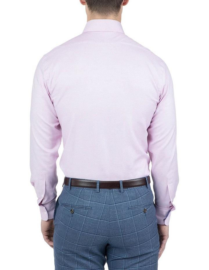 Classic Fit Pink Carlton Shirt image 3