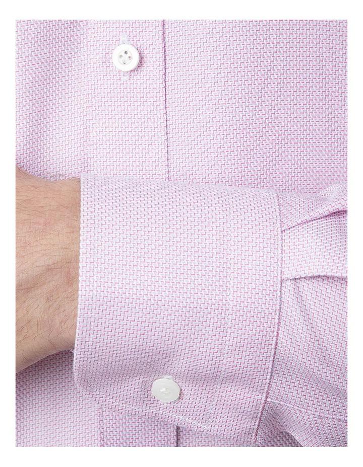 Classic Fit Pink Carlton Shirt image 4