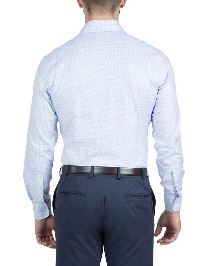 Modern Fit Blue Carlton Shirt image 3
