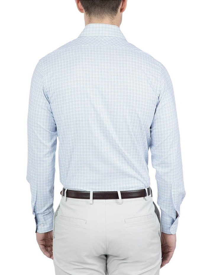 Modern Fit Blue Carlton Shirt image 2