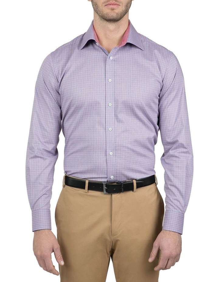 Classic Fit Red Carlton Shirt image 1