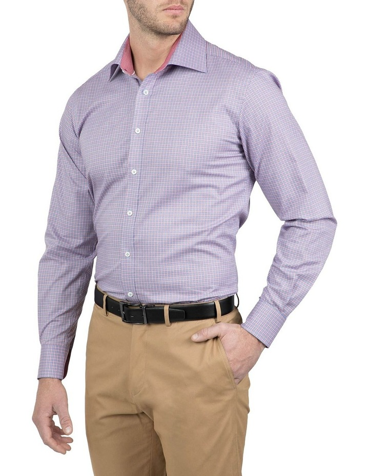 Classic Fit Red Carlton Shirt image 2