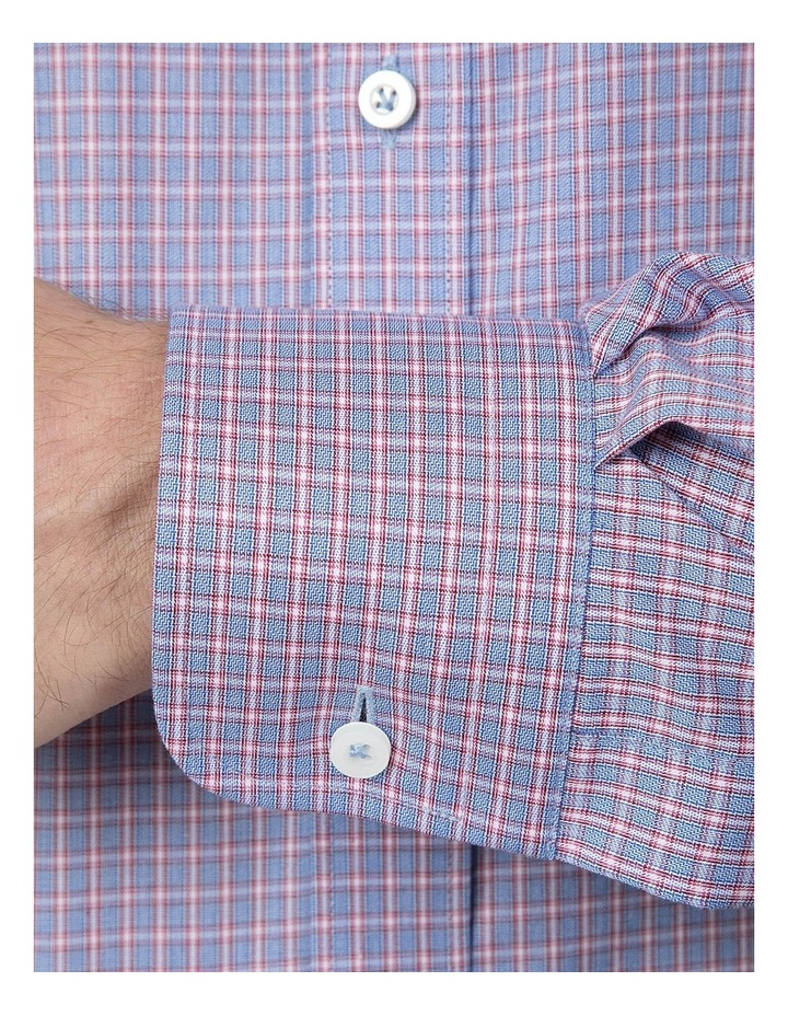 Classic Fit Red Carlton Shirt image 4