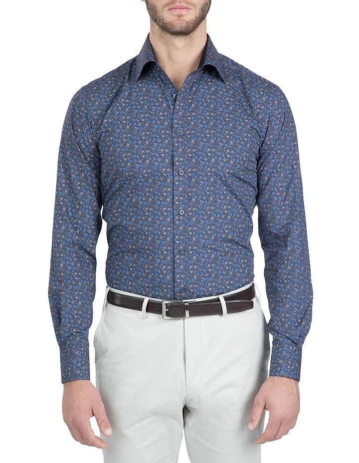 Modern Fit Navy Carlton Shirt image 1