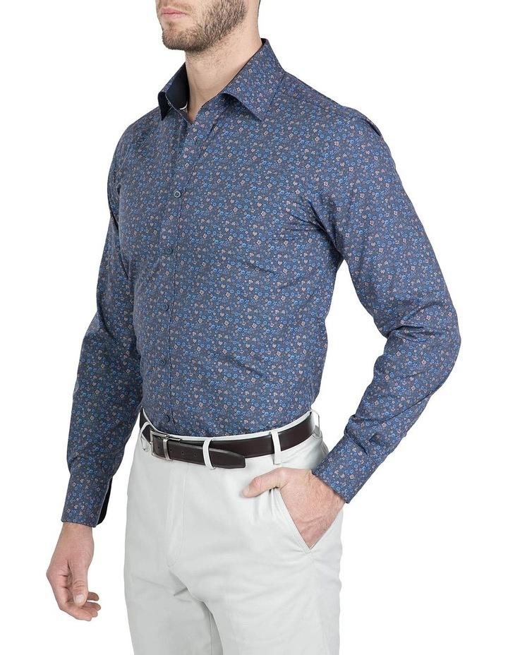 Modern Fit Navy Carlton Shirt image 2
