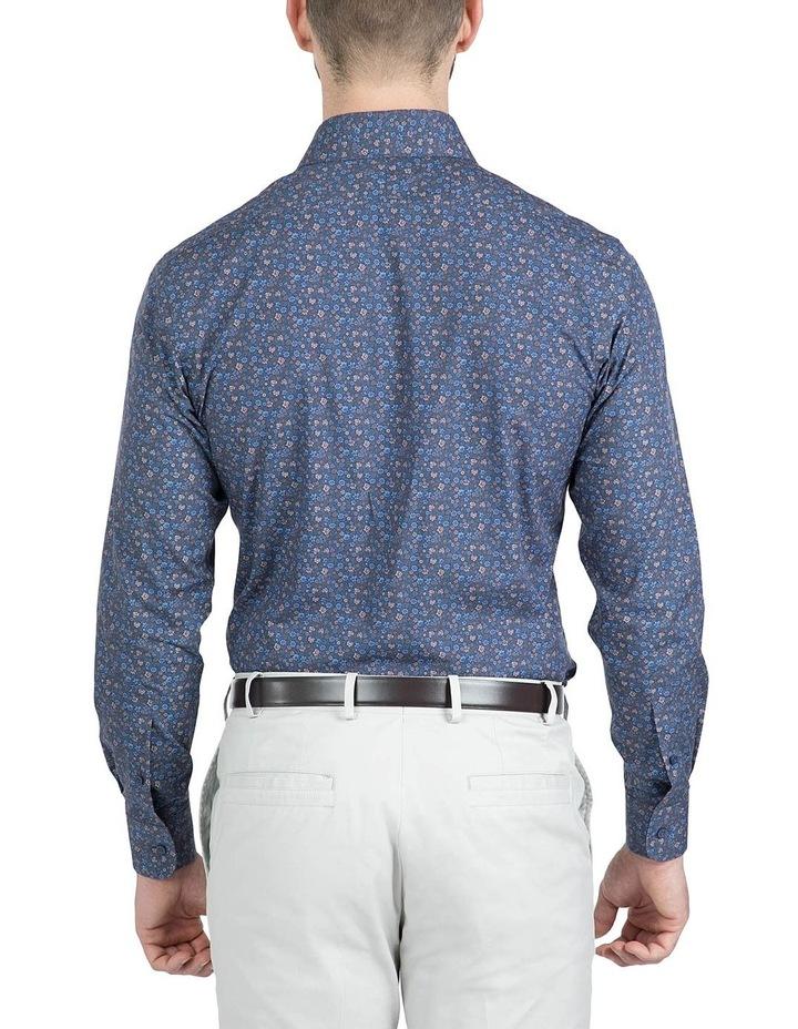Modern Fit Navy Carlton Shirt image 3