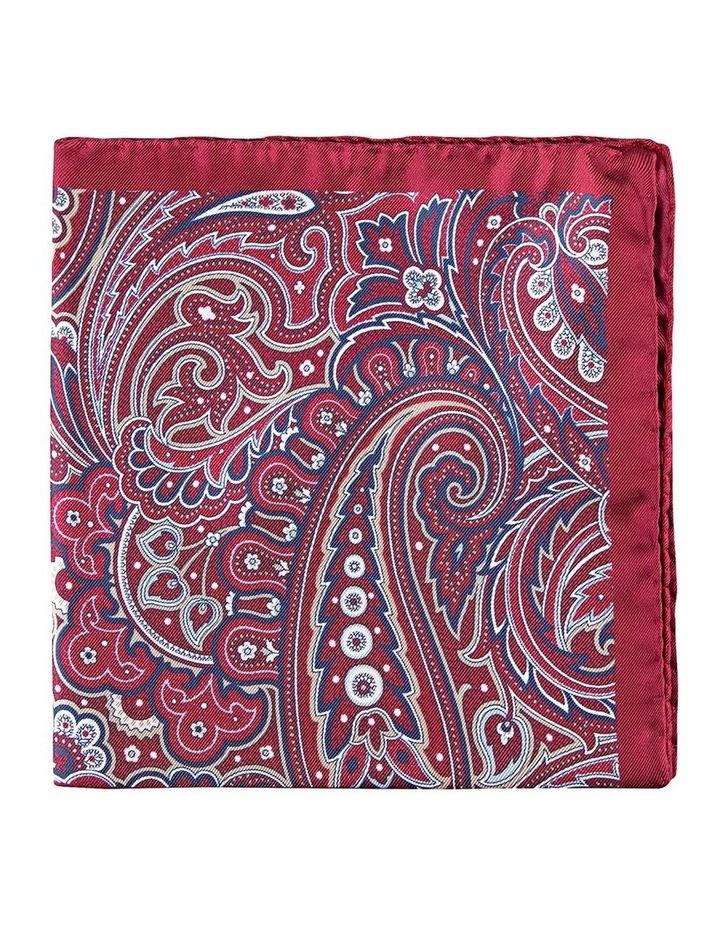 4-Way Foulard Silk Pocket Square image 1