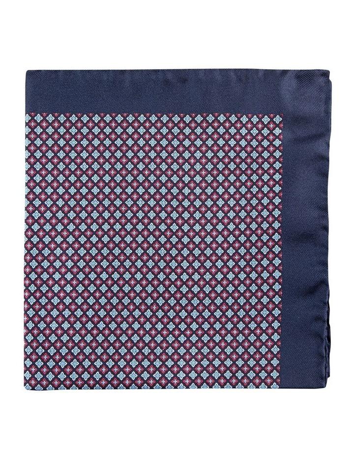 Micro Foulard Silk Pocket Square image 1