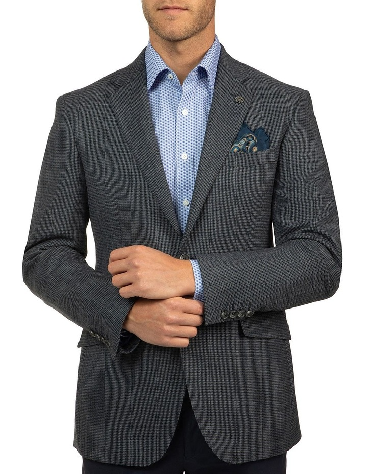 Modern Fit Blue Glamorgan Jacket image 1