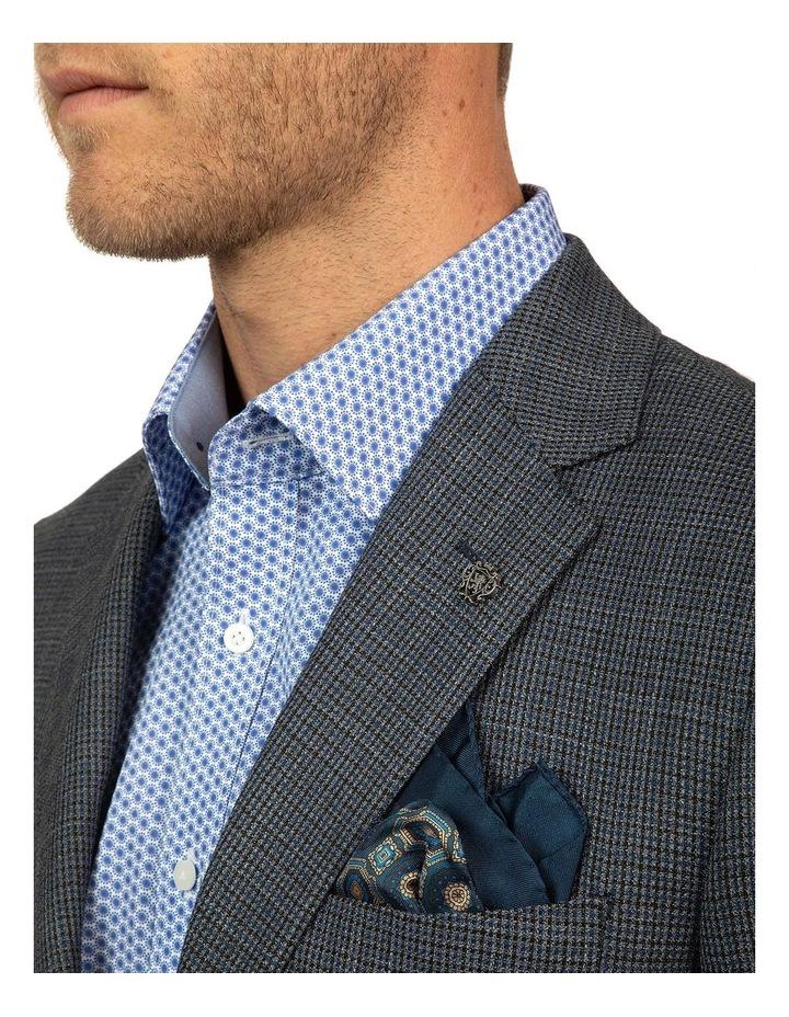 Modern Fit Blue Glamorgan Jacket image 4