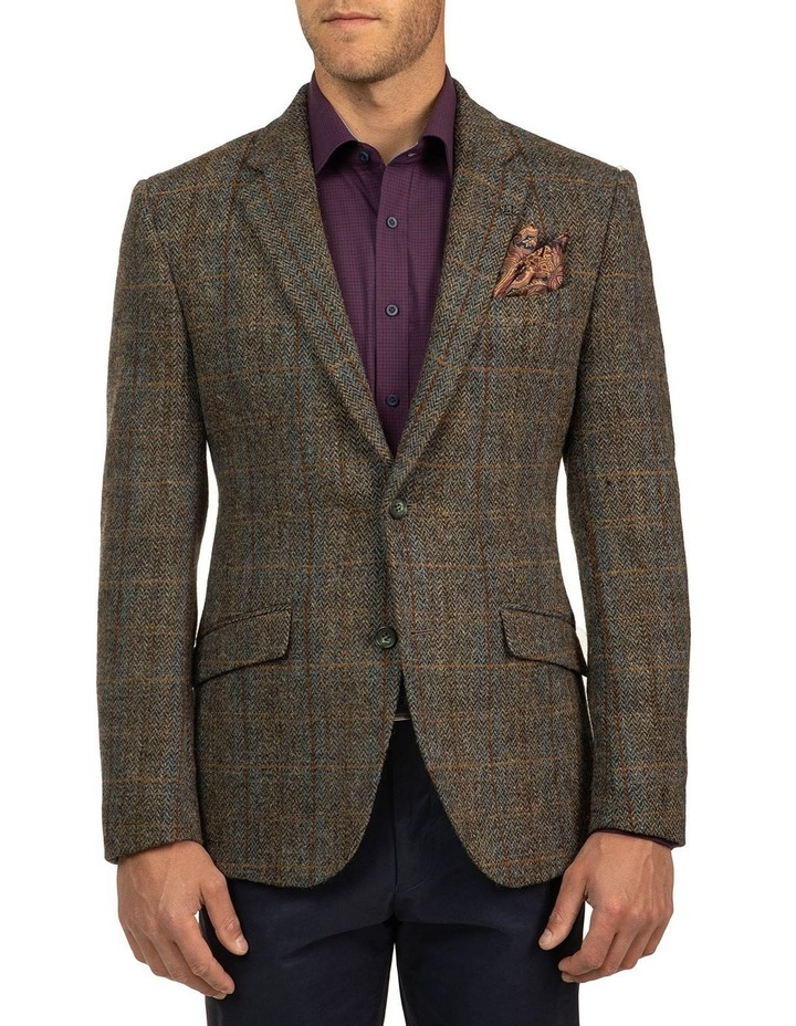 Modern Fit Harris Tweed Jacket image 1