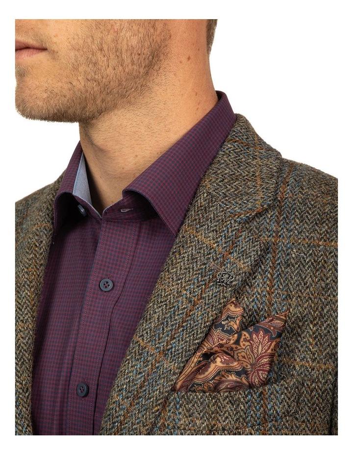 Modern Fit Harris Tweed Jacket image 4