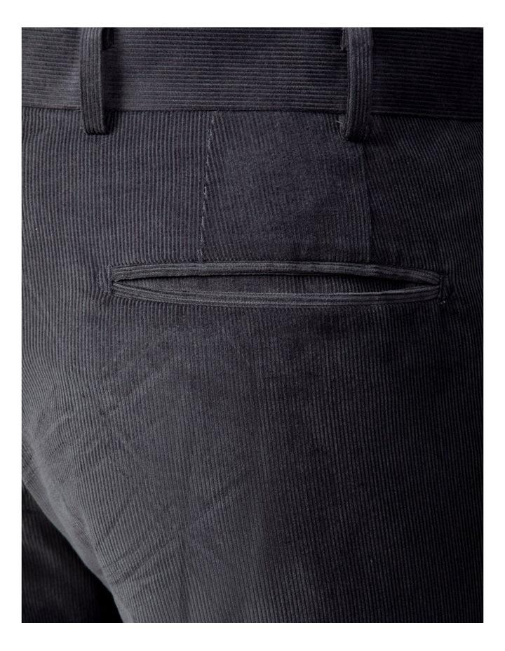 Modern Fit Grey Corduroy Fabian Pant image 4