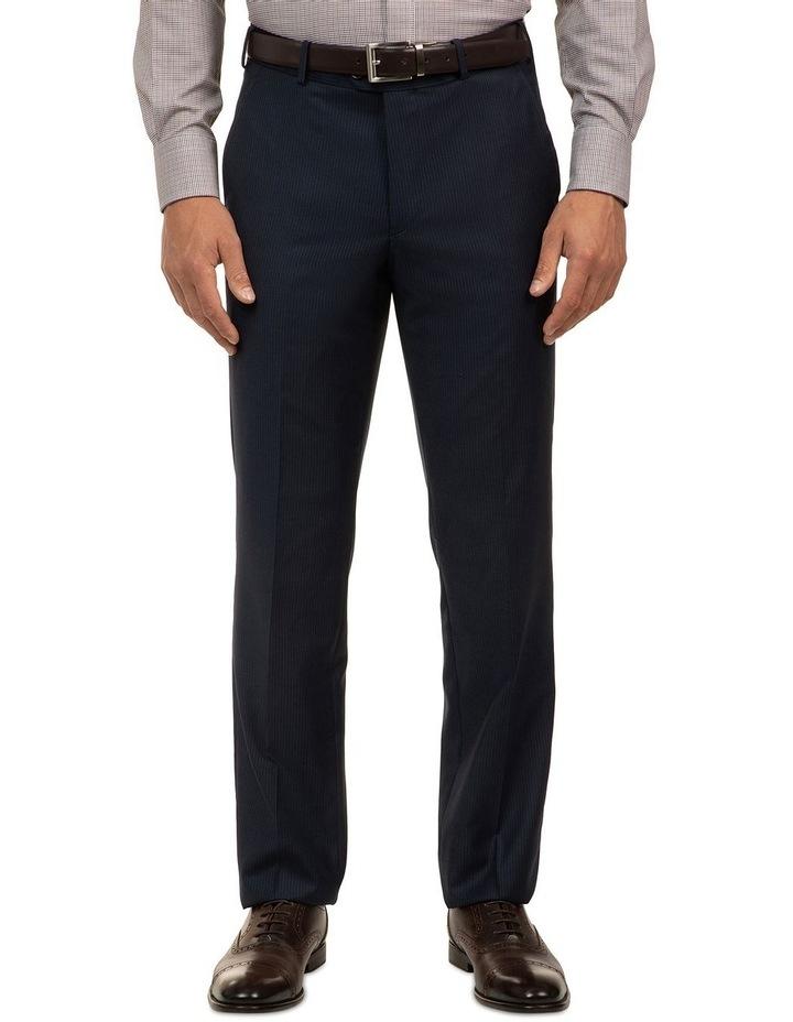 Navy Stripe FCJ353 Suit Trouser image 1