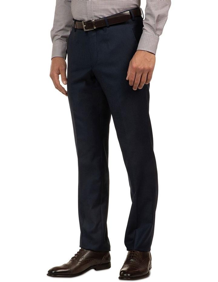 Navy Stripe FCJ353 Suit Trouser image 2