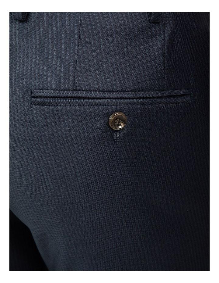 Navy Stripe FCJ353 Suit Trouser image 4