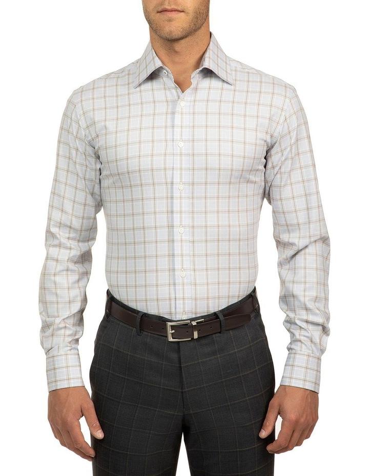 Modern Fit Grey Carlton Shirt image 1