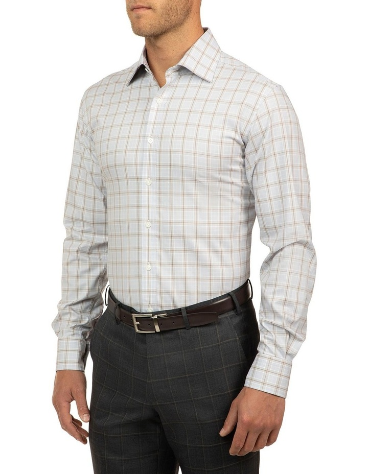 Modern Fit Grey Carlton Shirt image 2