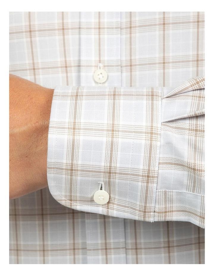 Modern Fit Grey Carlton Shirt image 4