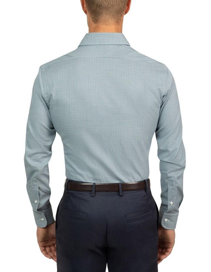Modern Fit Teal Carlton Shirt image 3