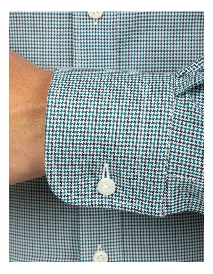 Modern Fit Teal Carlton Shirt image 4