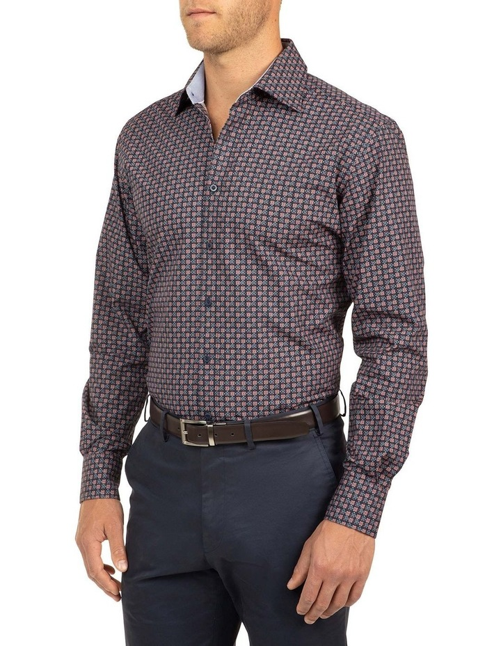 Modern Fit Red Carlton Shirt image 2
