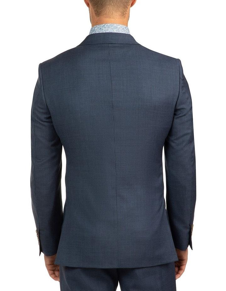 Modern Fit Morse Blue Houndstooth Suit Jacket FCJ336 image 3