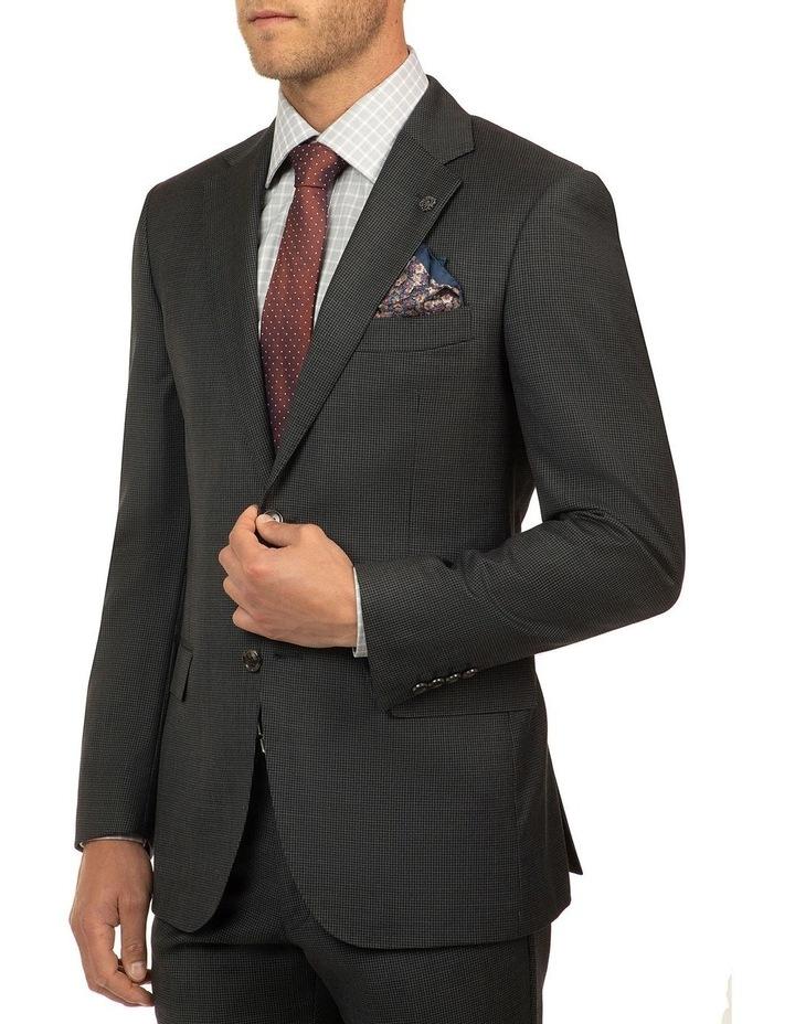 Charcoal Houndstooth FCJ336 Suit Jacket image 2