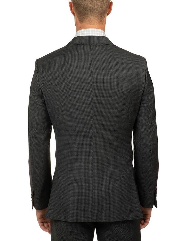 Charcoal Houndstooth FCJ336 Suit Jacket image 3