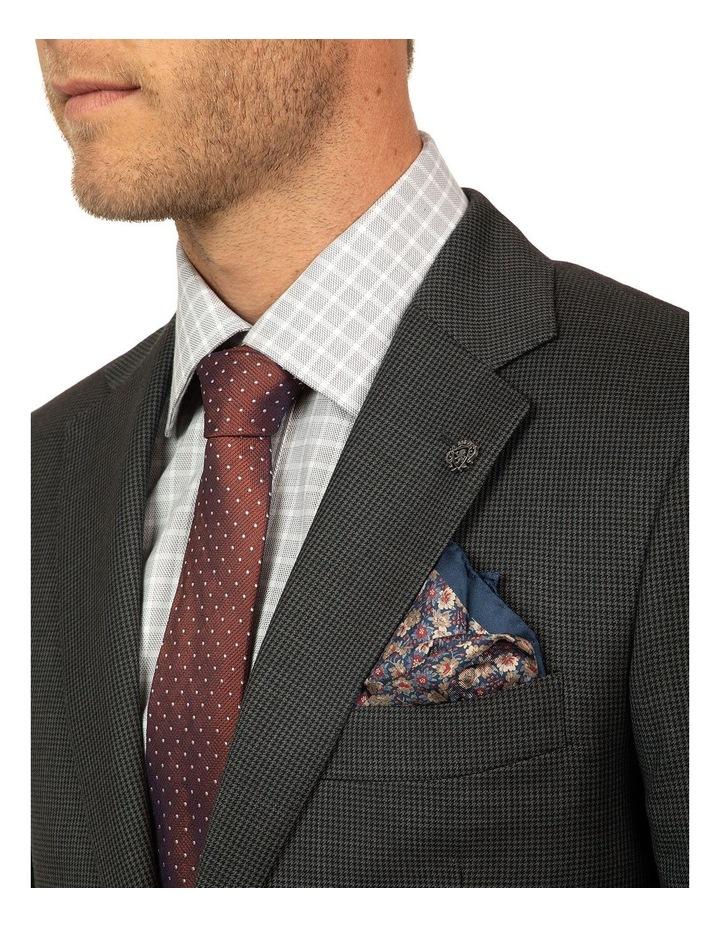 Charcoal Houndstooth FCJ336 Suit Jacket image 4