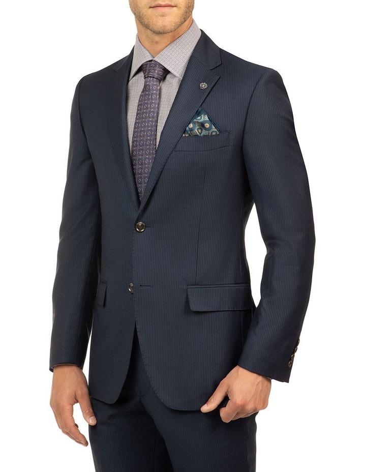 Navy Stripe FCJ353 Suit Jacket image 2