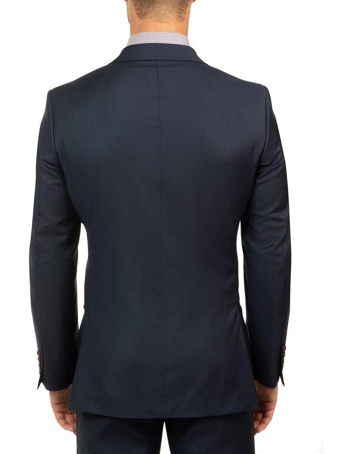 Navy Stripe FCJ353 Suit Jacket image 3
