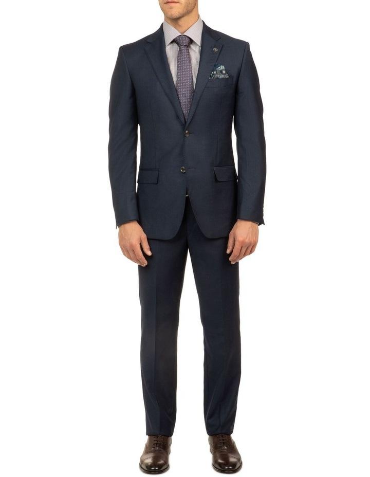 Navy Stripe FCJ353 Suit Jacket image 5