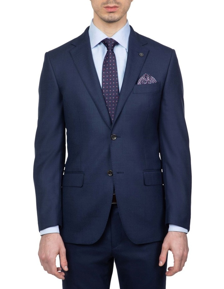 Modern Fit Navy Morse Suit Jacket FMG101 image 1