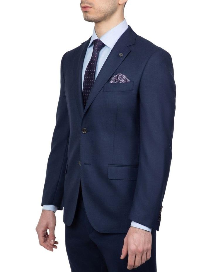 Modern Fit Navy Morse Suit Jacket FMG101 image 2
